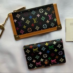 Louis Vuitton Coin Purse & Card Set